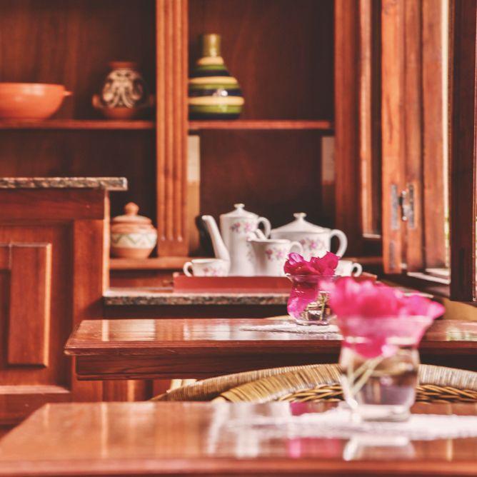 Desayunador en Villa Vicuña Cafayate