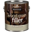 Benwood Wood Grain Filler--painting over oak cabs