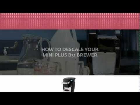 how do i descale my keurig machine