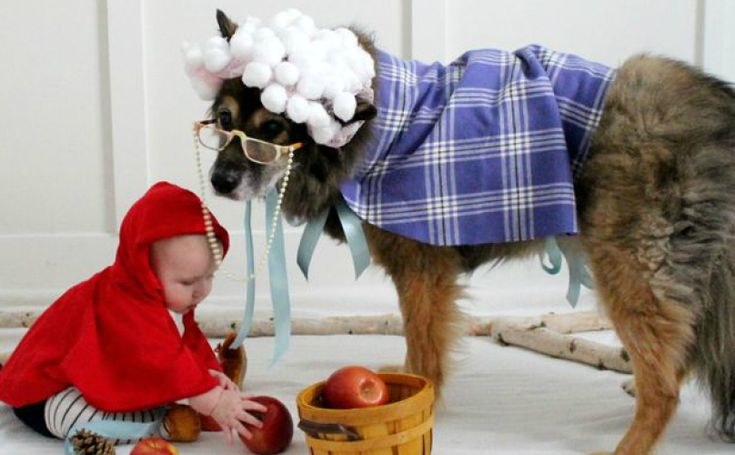 14 Adorable Couples Costume Ideas For Dogs And Kids