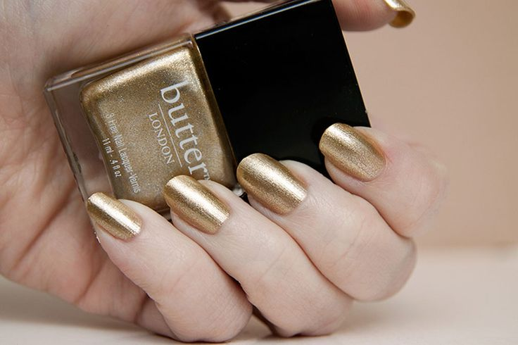 Butter LondonGold Nails, Fall Nails, Nails Colors, Full Monty, Butter London Wedding Nails, Golden Butter, Gold Wedding, Nails Polish Colors, Butter Polish