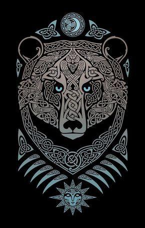 51 best celtic bear images on pinterest bear tattoos tattoo ideas and bears. Black Bedroom Furniture Sets. Home Design Ideas