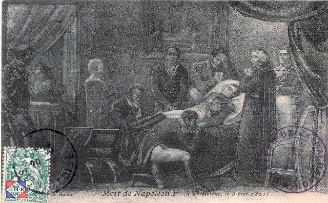 mort de Napoléon le 5 mai 1821