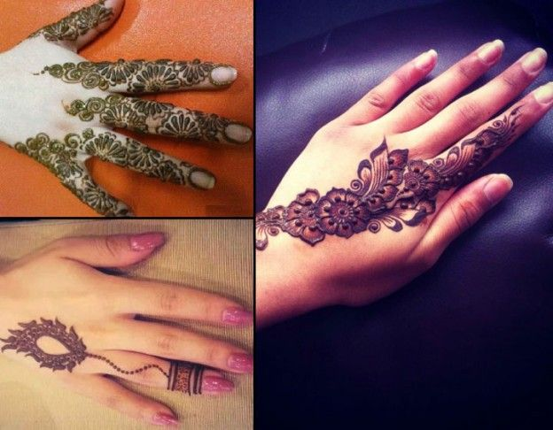Mehndi Designs For Fingers Only : Mehndi design only fingers makedes