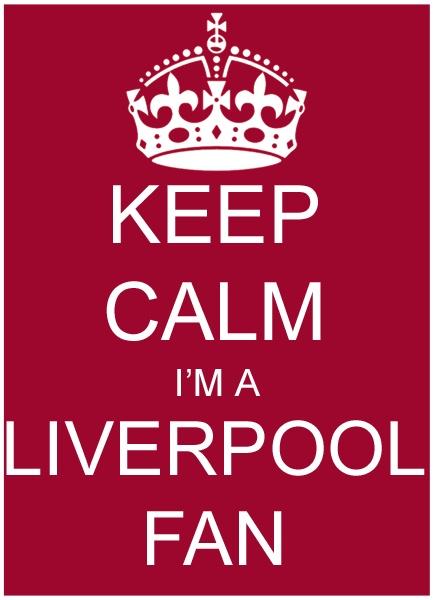Keep Calm I'm A Liverpool Fan