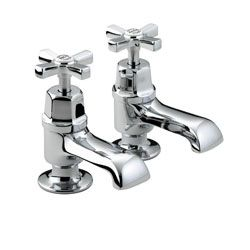 Bristan Art Deco Bath Taps Chrome Plated With Ceramic Discs D 3/4 C CD  View the full range of Bristan Taps available from Trading Depot by clicking here: http://www.tradingdepot.co.uk/DEF/catalogue/O023001/Kitchen%20&%20Bathroom%20Taps/By%20Manufacturer/Bristan%20Kitchen%20&%20Bathroom%20Taps