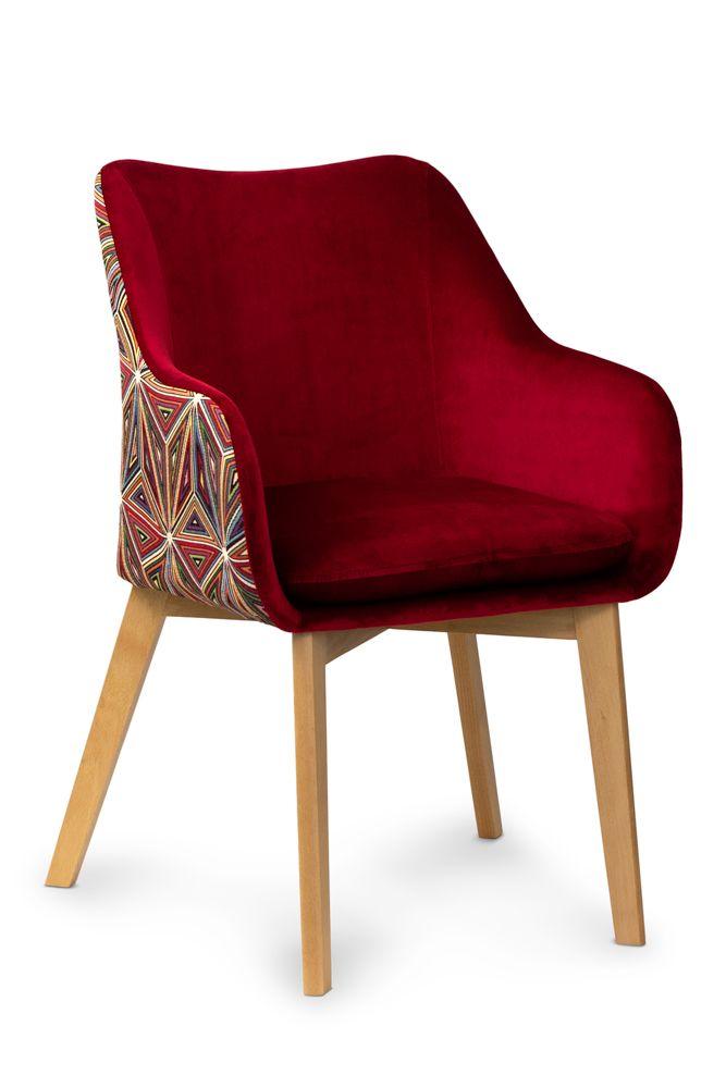Krzeslo Tapicerowane Huan Juan Wzor Geo Nowosc 7402766423 Oficjalne Archiwum Allegro