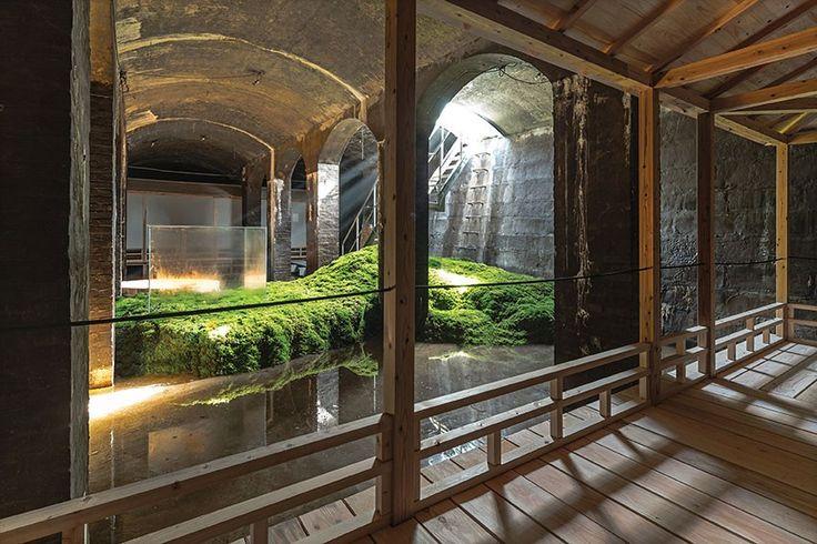 Douglas planks by Dinesen at The Cisterns x Sambuichi