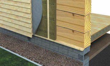 Как и чем утеплить деревянный дом снаружи - от материалов до монтажа