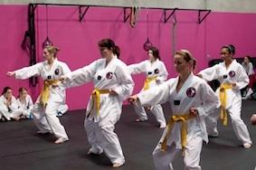Women's Only Taekwondo & Fitness WOMEN'S TAEKWONDO