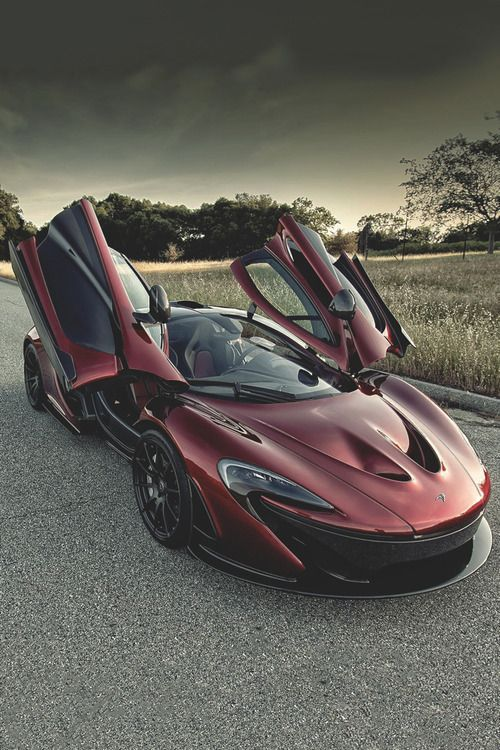 McLaren sport car, wine color, exotic and luxury - beautiful - #exoticcars #sportcars #sportscar