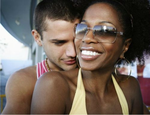 Black boy dating white girl