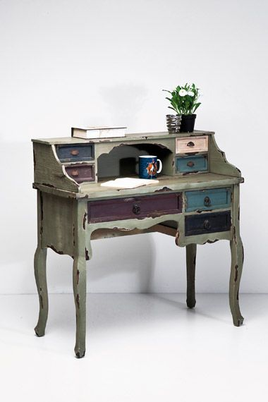 Secretary Desk at Urban Outfitters, my gran had a beautiful antique polished wood secretary desk similar to this..