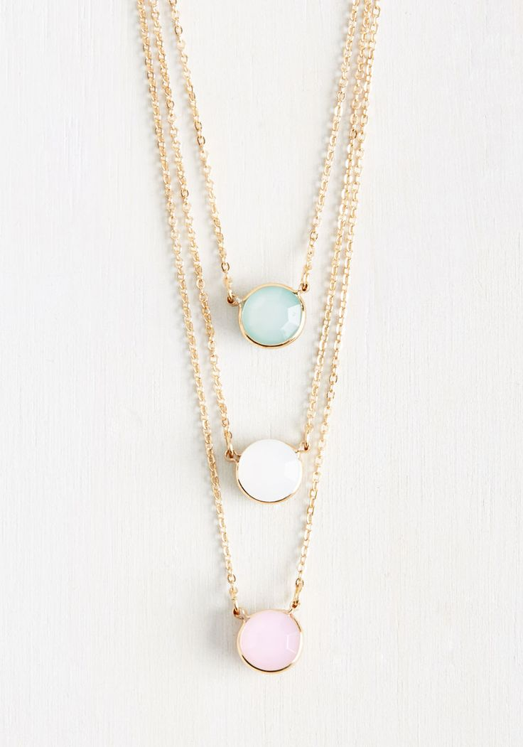 Sweet layered necklace