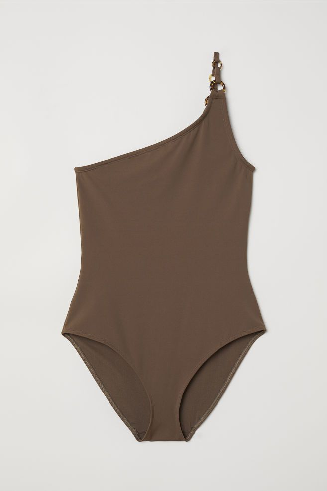 64806878 One shoulder-badedrakt   Fasjon   One shoulder swimsuit, One ...