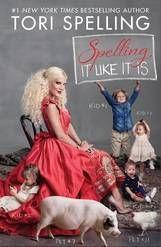 """""""Spelling It Like It Is"""" is the latest memoir from Tori Spelling."""