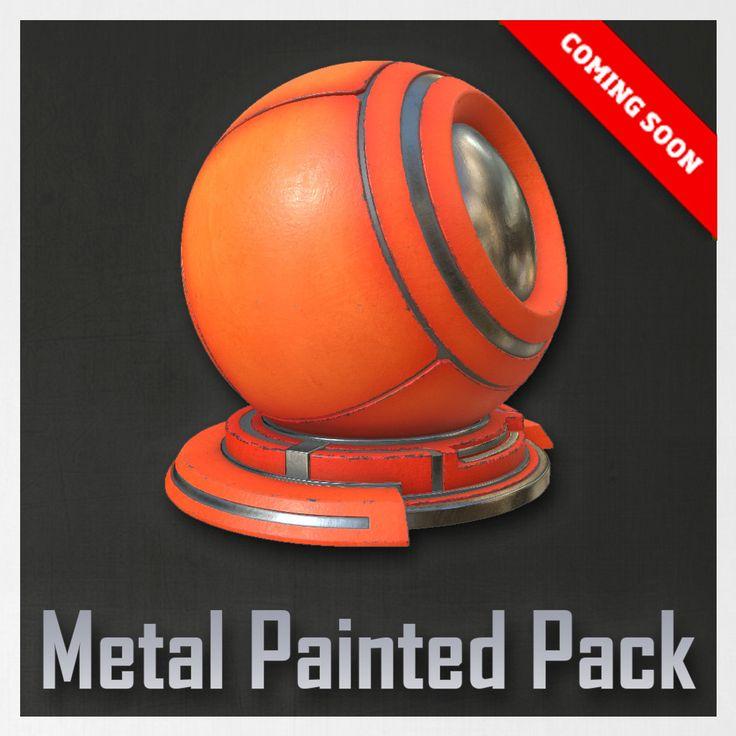 "Metal Painted Pack , Alfredo ""Fredo"" Gutierrez on ArtStation at https://www.artstation.com/artwork/J3Rg0"