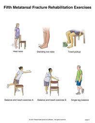 foot rehabilitation exercises