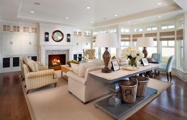 coast-inspired: Sofa Table, Interior, Living Rooms, Beach House, Livingroom, Decorating Ideas, Dream House, Family Rooms, Room Ideas