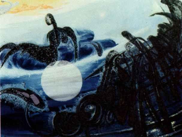 Abidin Elderoğlu (Turkish, 1901-1974) - Siren of the Sky, 1968