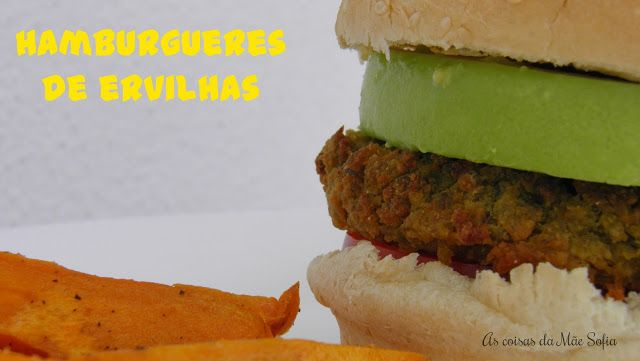 Hambúrguer de Ervilhas
