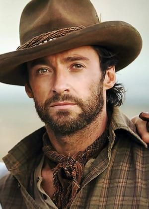 Hugh Jackman in Australia. Love the movie, love him.
