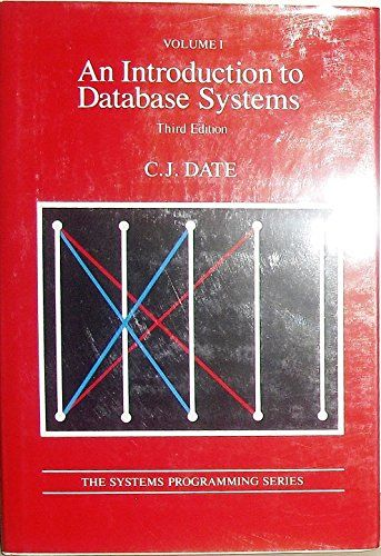An Introduction to Database Systems (Systems Programming, Vol. 1) by C. J. Date http://www.amazon.ca/dp/0201144719/ref=cm_sw_r_pi_dp_Lf2Avb1Z5FTYM