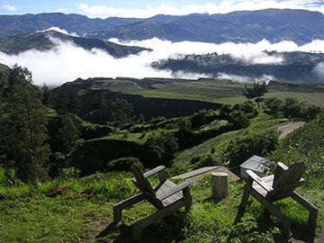 Black Sheep Inn -- Eco-Reteats in Ecuador - Green Guesthouse - Villa Rental - lodge and accommodations high in the Andes mountains.