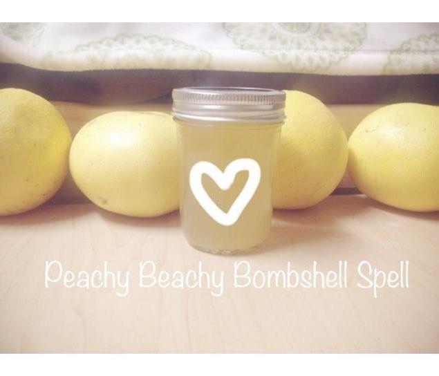 Peachy Beachy Bombshell Spell; Apple Cider Vinegar Metabolism Booster Drink!
