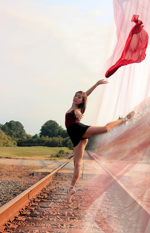 #Ballet on the Train Tracks