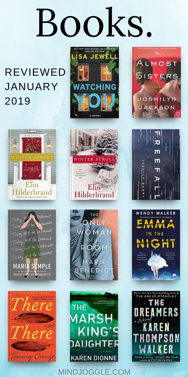 Mini Reviews of Recent Reads: January 2019
