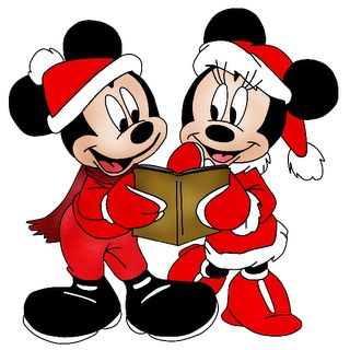 disney christmas clipart | Disney Group Images - Disney And Cartoon Christmas Clip Art Images