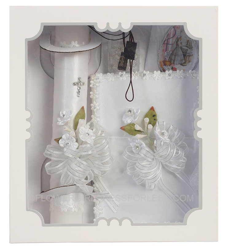 First Communion Candle Set $34.99
