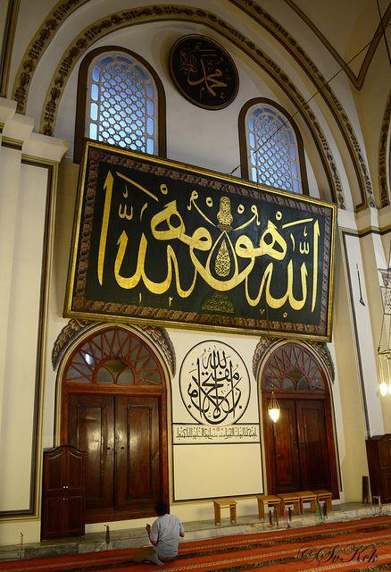 Prayer... Ulu Mosque, Bursa, Turkey | Flickr - Photo Sharing!