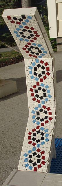 Katie Walker, Lego Wheel mosaic (cropped)