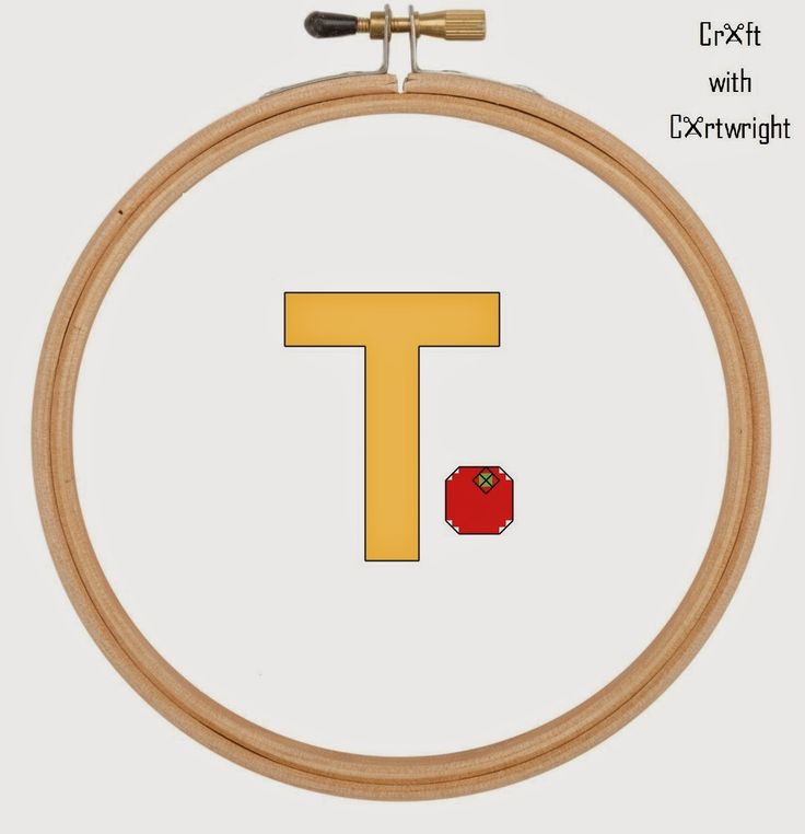 Craft with Ruth Cartwright: Free cross stitch T is for Tomato alphabet sampler...