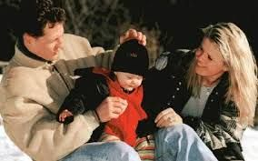 schumi with Mick and Corinna