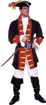 Morris Costumes Men Captn Hook Prince Suit Medium. AC148MD