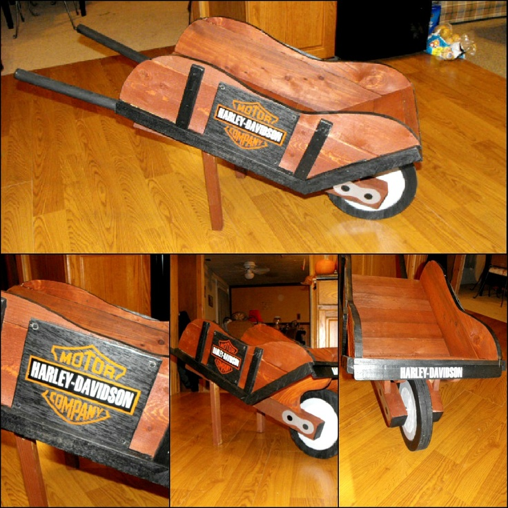Harley Davidson wheelbarrow .Harley-Davidson of Long Branch www.hdlongbranch.com