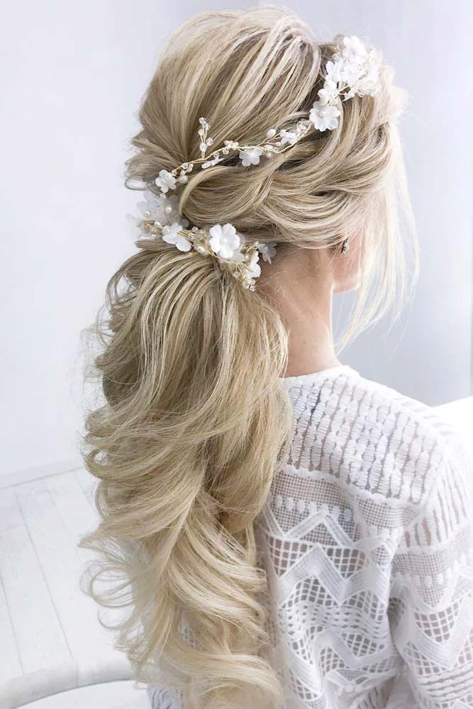 24 Elegant Wedding Hairstyles For Long Hair Lovehairstyles Com Wedding Hairstyles For Long Hair Long Hair Styles Elegant Wedding Hair