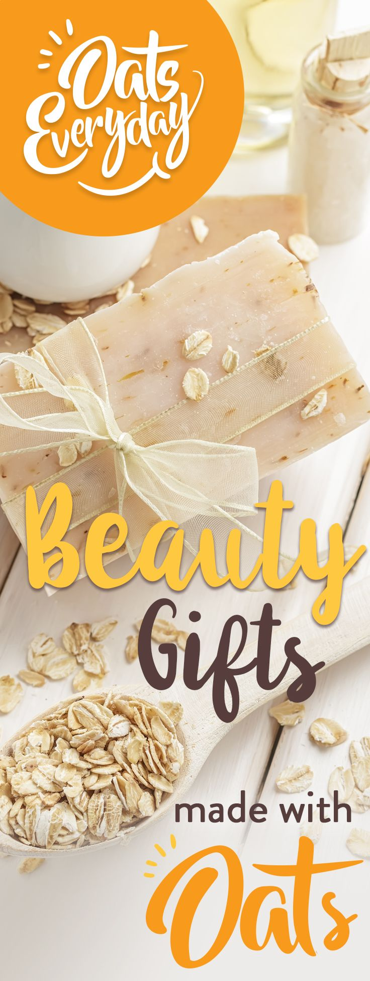Beauty Gifts Naturally moisturizing oats are renowned for their beautifying properties.