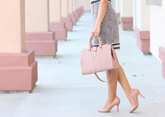 YSL Cabas Chyc Mini in Dragee | Fashion | Pinterest