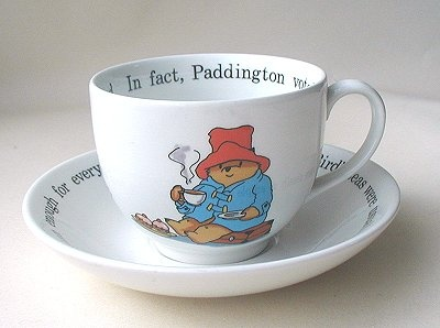 Another Paddington bear teacup.