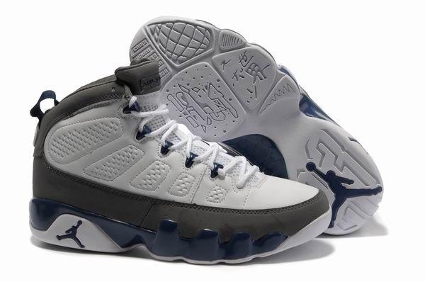 Nike Air Jordan 9 Retro Medium Grey White Cool Grey Shoes