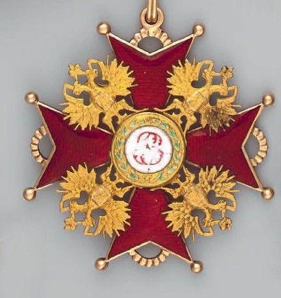 croix de l'ordre de Saint Stanislas