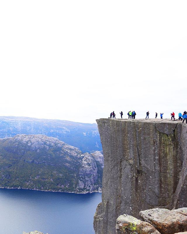 Yesterdays trip to #Preikestolen