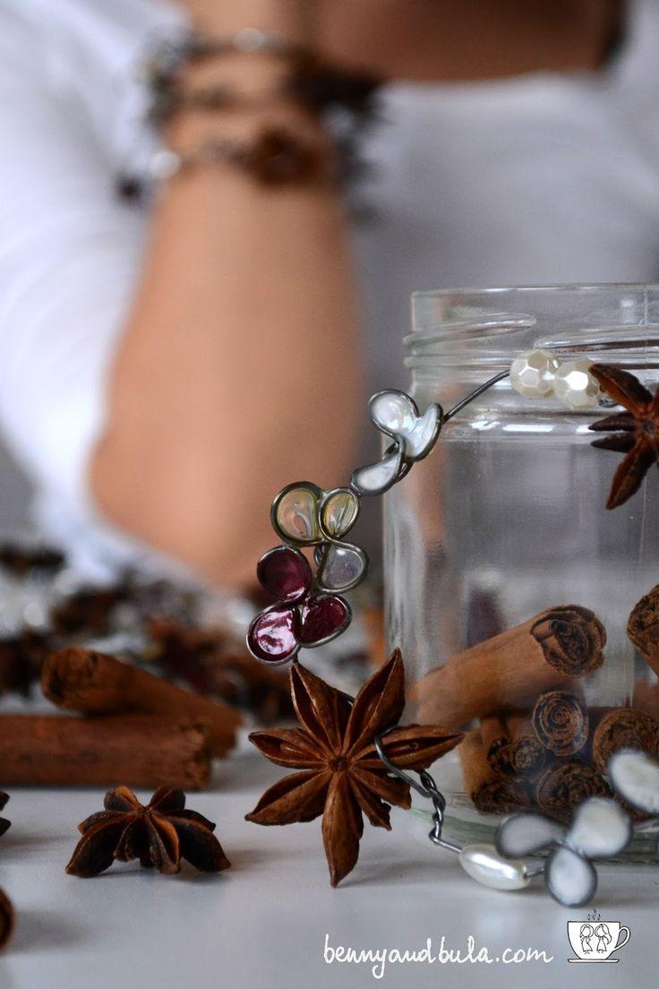 Natale 2015 girlande fai da te con fil di ferro, smalto e colla/DIY Christmas garlands with wire glue and nail polish