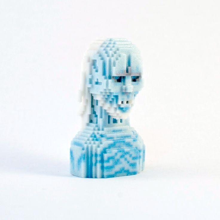 White Walker #leblox #pixelart #3Dprinting #tribute #fanart #GOT