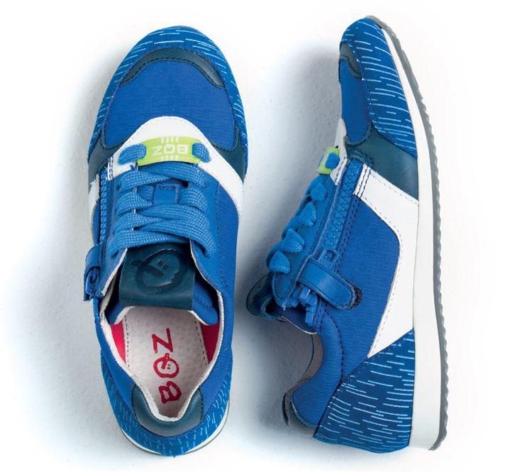 Baskets garçon - BQZ - Bleu - 415403 VpLUezTvjD