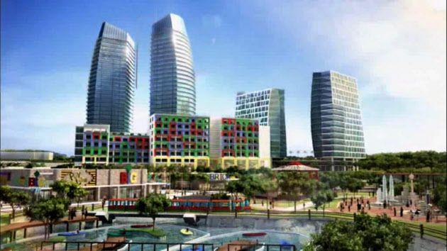 イスカンダル計画の完成予想図 ▼26Jul2015日本経済新聞|ジョホールバル 空白の大地はフロンティアの匂い http://www.nikkei.com/article/DGXMZO89639090T20C15A7000000/ #Johor_Bahru_Iscandal_Plan